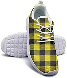 HURSUEE Brown Leopard Print Shoes Women Ultra Lightweight Fashion Cushioning Sneakers Running Shoes