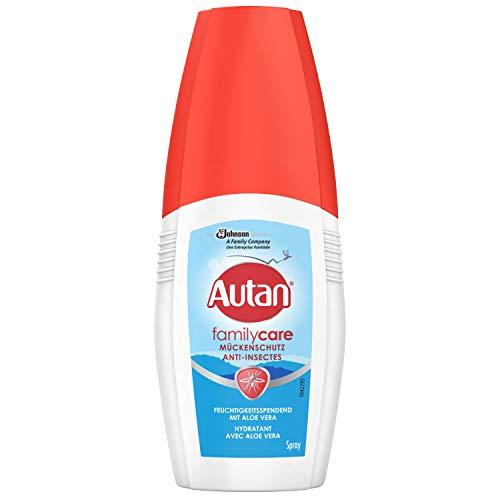 Autan Family Care Pumpspray Mückenschutz für die Familie, Repellent, mit Aloe Vera, 1er Pack (1 x 100 ml)