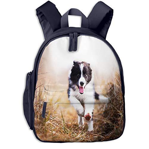 Kinderrucksack Kleinkind Jungen Mädchen Kindergartentasche Laufender Hund Backpack Schultasche Rucksack