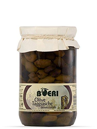 270g Entkernte Taggiasche Oliven in Olivenöl-Extra vergine eingelegt