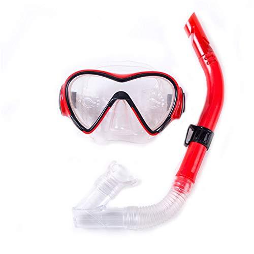Taowan Juego de esnórquel en seco y antivaho anti-fugas gafas de buceo de buceo profesional