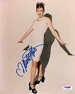 Melissa Joan Hart Signed 8 X 10 Sexy Color Photo Autograph W/ Coa Nice Pic Auto Photographs