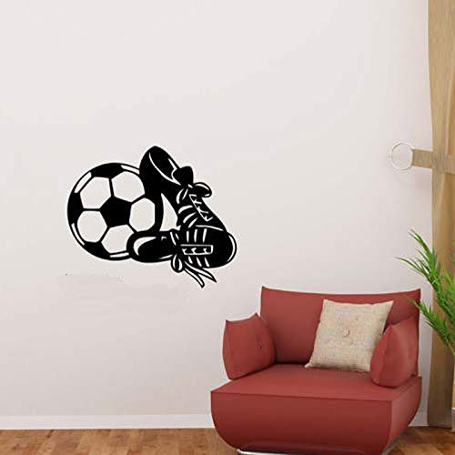 Zhuzhuwen Wall Art Stickers Wizard Of Oz, Voetbal En Sneakers En Op De,Vinyl Wallpaper Wall Art
