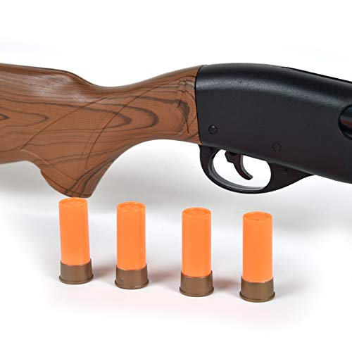 Sunny Days Entertainment Pump Action Shotgun – with Realistic Sounds and Ejecting Play Shells | Hunting Role Play Toy | Cowboy Costume for Kids – Maxx Action