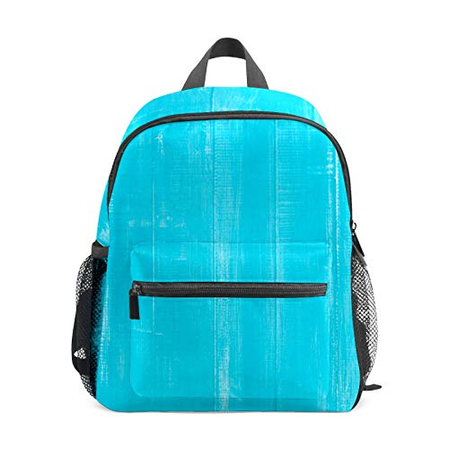 Mochila infantil para niños de 1 a 6 años de edad, mochila perfecta para niños y niñas, mochila de madera azul