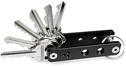 K-Addict by CINEIK V1 Key Holder Organizer System (Black Anodized) 1-51 keys + Build Kit