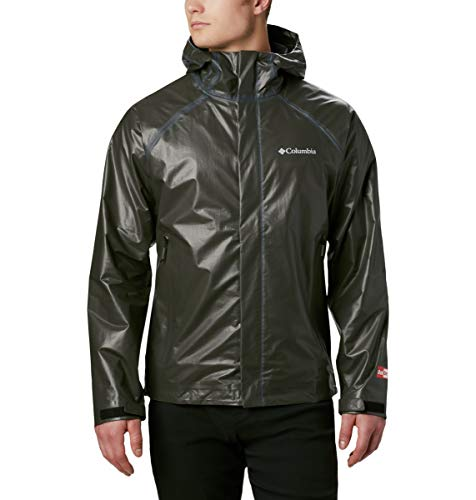 Columbia Men's Outdry Ex Blitz Jacket, Waterproof, Breathable, Black, Small
