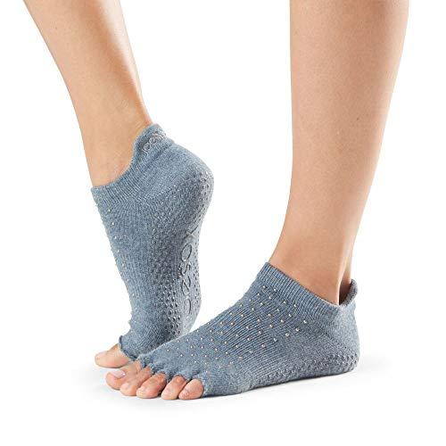 Toesox Par de calcetines unisex Ht para yoga báltico, Unisex, Par de calcetines de yoga, YTOENTLRBALTIC-S, Báltico, S