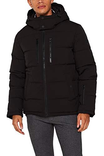 ESPRIT Herren 109Ee2G019 Jacke, Schwarz (Black 001), X-Large (Herstellergröße: XL)