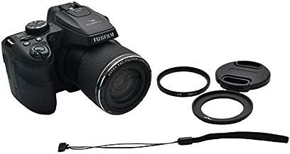 Kiwifotos KWF-SL1000 58mm UV Filter Lens Adapter Ring Cap Set For Fujifilm Finepix S8200 S8300 S8400 S8500 S8400W S9200 S9400W SL1000 S9900W S9800 Camera