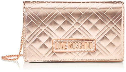 Love Moschino Jc4247pp0a, Bolso de día para Mujer, Dorado (Copper), 7x14x22 Centimeters (W x H x L)