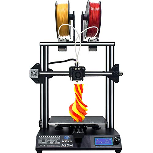 GEEETECH A20M 3D Printer Quick Assembly DIY kit with Mix-Color Printing, Break-resuming, Large Printing Area: 255×255×255mm³