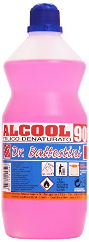 Dr. Battestini - Alcohol Etílico Desnaturalizado - 90 grados - 500 ml