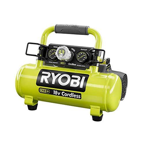 RYOBI 18-Volt ONE+ Cordless 1 Gal. Portable Air Compressor Kit (Bulk Packaged, Non-Retail Packaging) P739 + P108 + P118