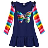 VIKITA 2018 Toddler Girls Dresses Long Sleeve Girl Dress for Kids 3-8 Years LH5880, 8T