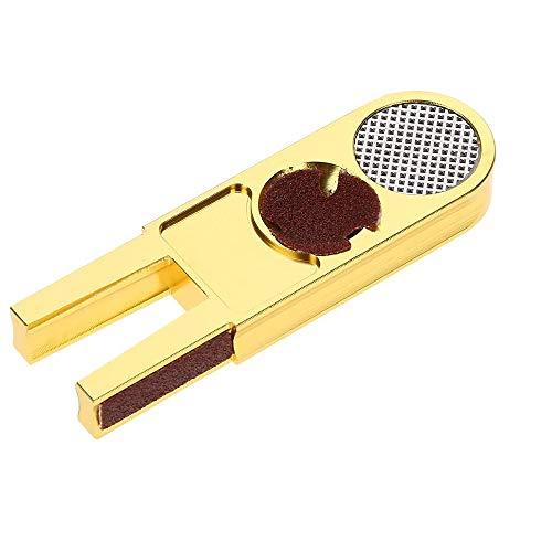 MOPOIN Cue Tip Trimmer, 3 in 1 Multifunktions Billard Queue Tip Trimmer Shaper Tapper für Queue Snooker Oder Pool Queue Tipps
