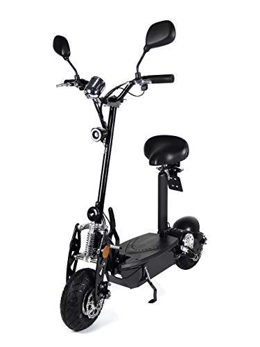 "Elektroroller ""Buzzard Li"", 1000 Watt, herausnehmbarer Lithium-Akku, 30 km Reichweite, 40 km/h, Elektro-Roller, E-Scooter, E-Roller mit Straßenzulassung, Elektro Scooter, E-Mofa Produktvideo"