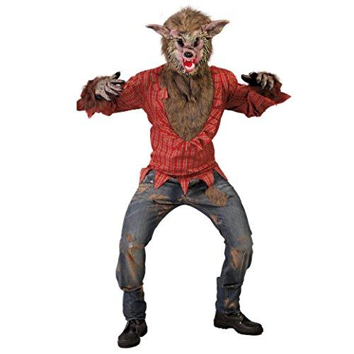 Werwolf Kostüm für Herren Gr. M/L, Größe:L