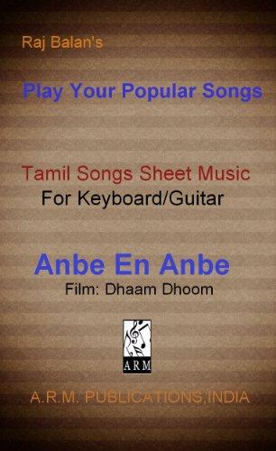 Anbe En Anbe Sheet Music by Raj Balan S (English Edition)