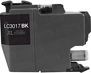 CompAndSave Brother Compatible LC3017BK High Yield XL Black Ink cartridge (LC3017 Series)