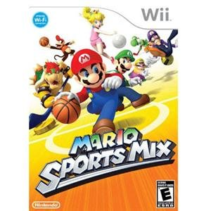 NEW Mario Sports Mix Wii (Videogame Software)