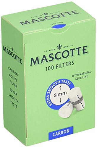 MASCOTTE(マスコット) レギュラーチャコールフィルター 100個入 5個パック 7-65011-30