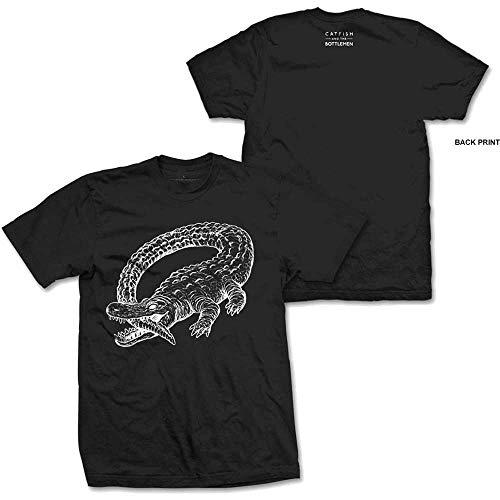 T-Shirt # L Black Unisex # Alligator