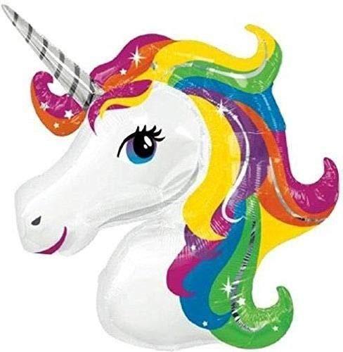 Inspire our party Mini globo arcoíris de unicornio de 40,6 cm