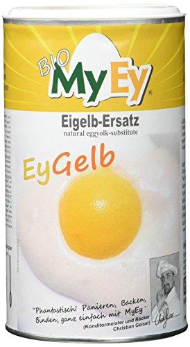 MyEy EyGelb, BIO Eigelb-Ersatz, vegan, sojafrei, cholesterinfrei, 2er Pack (2 x 200 g)