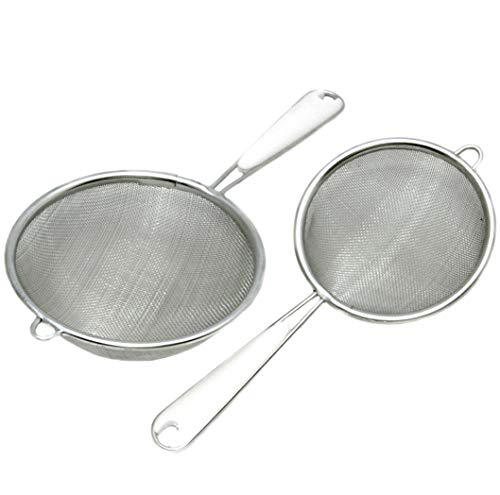 Chef Craft 21038 Mesh Strainers, Multisize, Silver