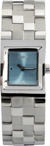 BREIL MIDTOWN collectie dames roestvrij stalen horloge met blauwe wijzerplaat