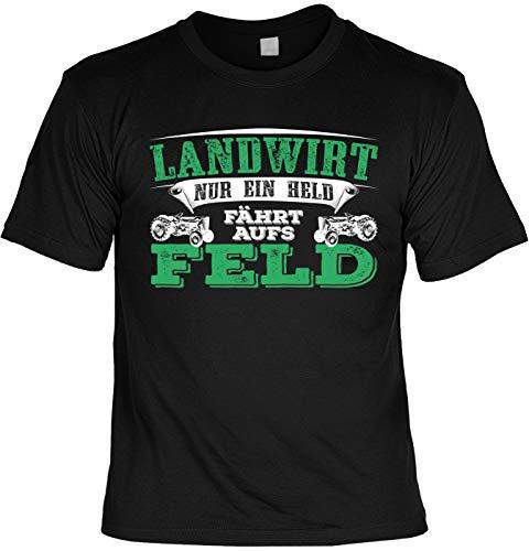 Laiberl motief Kerstmis T-shirt boer alleen een held rijdt op het veld boer man boer cadeau-idee boer boer vrouw geschenk shirt Laiberl