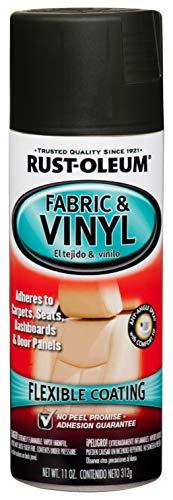 Rust-Oleum, Flat Black 248919 Automotive Fabric & Vinyl Spray Paint, 11-Ounce