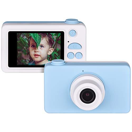 Miavogo Kinderkamera, Didigtalkamera für Kinder Fotokamera 8 Megapixel 2 Zoll Display HD 1080P Kamera, Blau