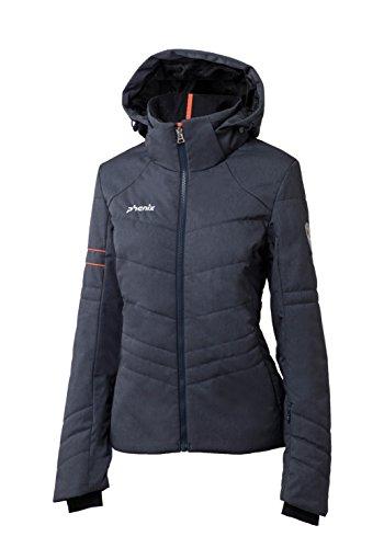 Phenix Damen Powder Snow Jacket Skijacke, Heathered Navy, 40