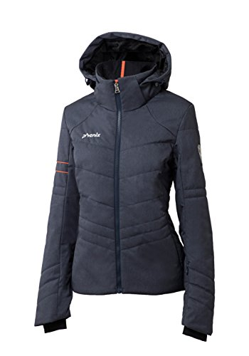 Phenix Damen Powder Snow Jacket Skijacke, Heathered Navy, 40