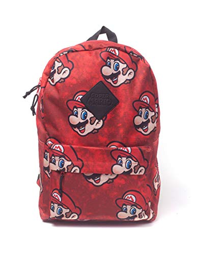 Super Mario - Rucksack - Rot