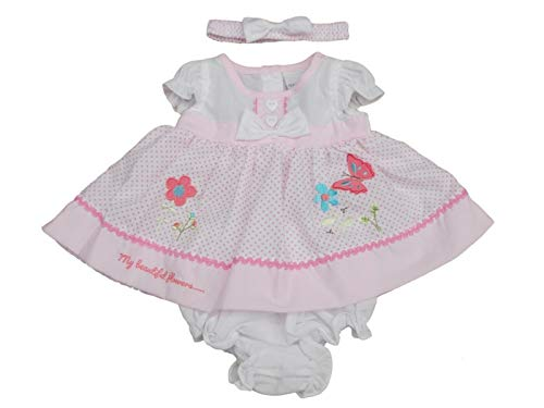 Nursery Time with Tags Tiny Premature Preemie Baby Girls Duck Dress Cardigan Socks