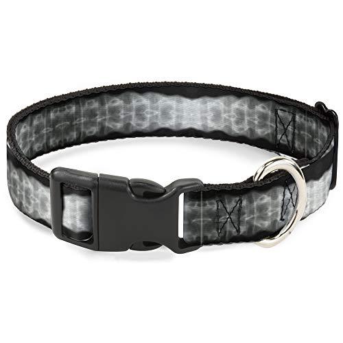 Katzenhalsband Breakaway Spinal X Ray schwarz weiß 20,3 bis 30,5 cm 1,3 cm breit
