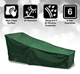 Bosmere Cover Up Sun Lounger Cover, Green, C565