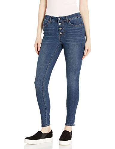 Jessica Simpson Women's Curvy High Rise Skinny Jeans, Bella, 25