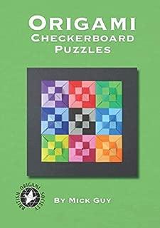 Origami Checkerboard Puzzles