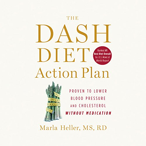 The DASH Diet Action Plan audiobook cover art