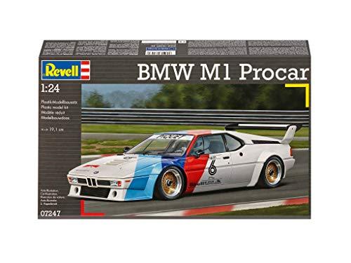 Revell 07247 - Modellbausatz - BMW M1 Procar im Maßstab 1:24