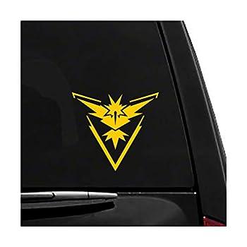 Pokemon GO - Team Instinct - Games - Vinyl Vehicle Sticker