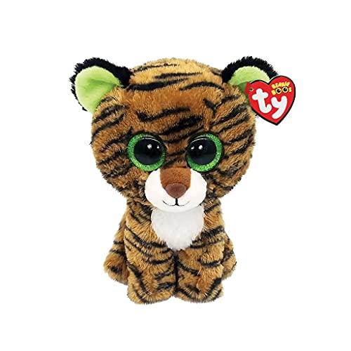 "Ty TIGGY -Brown Striped Tiger 6"""