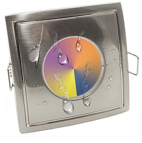 Foco LED RGB Warm White empotrable multicolor cabina ducha sauna wifi 5 W GU10 IP65