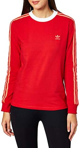 Adidas 3 STR W Camiseta de Manga Larga para Mujer