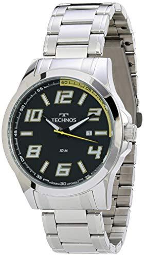 Relógio Technos, Pulseira de Aço Inoxidável, Masculino Prata 2115KNE/1Y