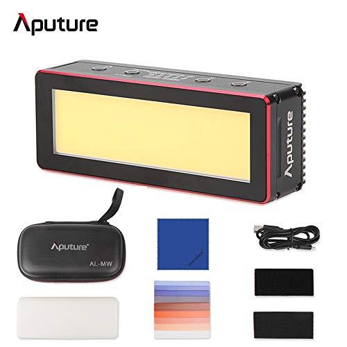 Aputure Amaran AL-MW 10m (IP68) wasserdichte Mini-LED-Videoleuchte 5600K Tageslicht Eingebaute Lithiumbatterie für Unterwasserbeleuchtung + Oneshot-Reinigungstuch
